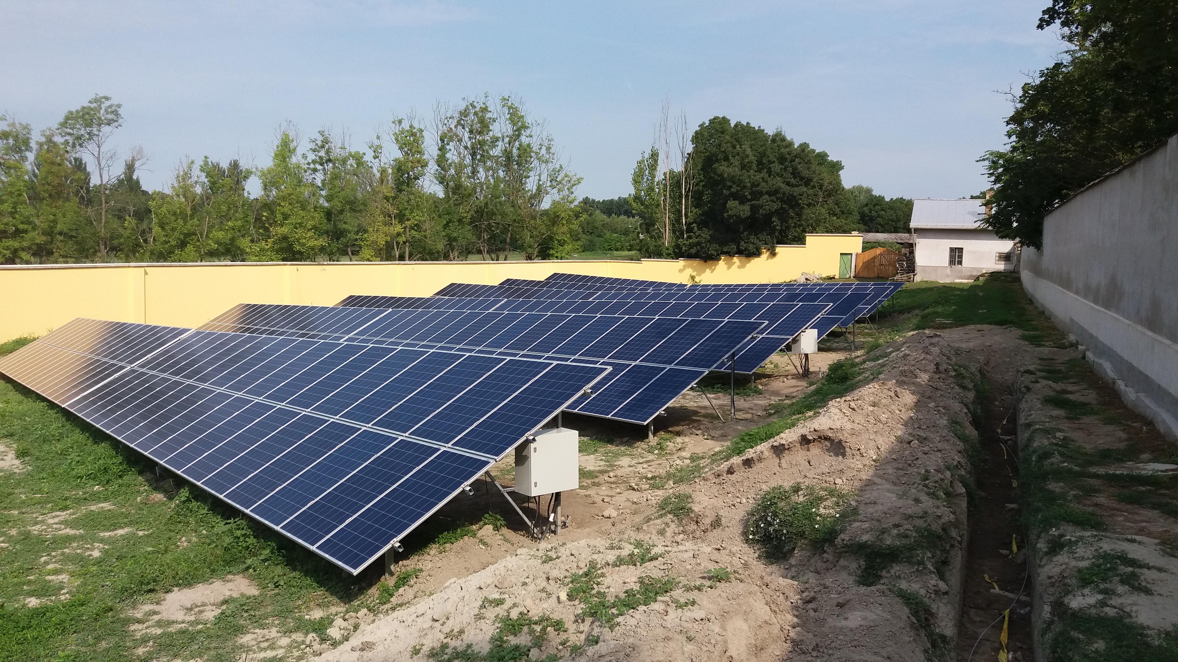 Kalocsai érsekség 2 x 50 Kw naperőmű 2016. 08. 17